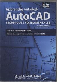 AutoCad - Techniques fondamentales, DVD-Rom.pdf