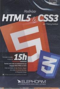Thierry Audoux - Maîtrisez HTML5 et CSS3. 1 DVD