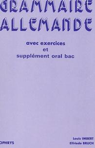 Openwetlab.it Grammaire allemande avec exercices et supplément oral bac - Lycées et classes préparatoires Image