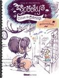 Elian Black'Mor et  Carine-M - Spooky, cahier de coloriage et petites métamorphoses.