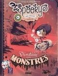Elian Black'Mor et  Carine-M - Spooky & les contes de travers Tome 1 : Pension pour monstres.