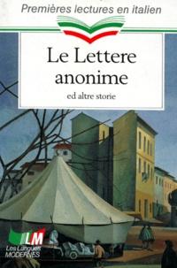 Eliane Bayle - Le Lettere anonime ed altre storie.