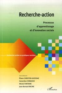 Eliane Christen-Gueissaz et Geneviève Corajoud - Recherche-action - Processus d'apprentissage et d'innovation sociale.