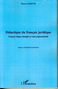 Didactique du français juridique - Français langue étrangère à visée professionnelle.pdf
