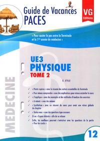 Physique UE3- Tome 2 - Eliane Etile | Showmesound.org