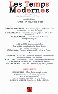 Eliane Lecarme-Tabone et Wassyla Tamzali - Les Temps Modernes N° 654, Mai-juillet : .