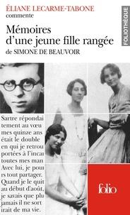 Eliane Lecarme-Tabone - Mémoires d'une jeune fille rangée de Simone de Beauvoir.