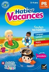 Eliane Spampinato et Cyril Hahn - Cahier de vacances 2020 de la Petite section vers la Moyenne section 3/4 ans.