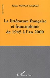 Eliane Tonnet-Lacroix - .