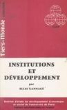 Elias Gannagé et  Institut d'Étude du Développem - Institutions et développement.