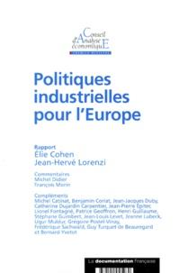 Elie Cohen et Jean-Hervé Lorenzi - .