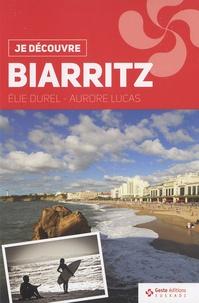 Elie Durel et Aurore Lucas - Biarritz.