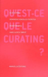 Elie During et Dominique Gonzalez-Foerster - Qu'est-ce que le curating ?.