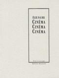 Elie Faure - Cinéma.