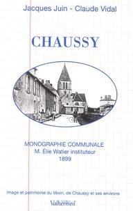 Elie Watier - Chaussy - Monographie communale.