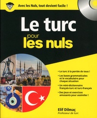 Elif Dilmaç - Le turc pour les nuls. 1 CD audio