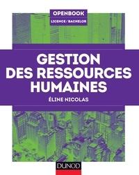 Eline Nicolas - Gestion des ressources humaines.