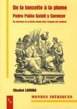 Elisabel Larriba - De la lancette à la plume : Pedro Pablo Gatell y Carnicer - Un chirurgien de la Marine Royale dans l'Espagne des Lumières (1745-1792).