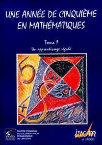 Accentsonline.fr Une année de cinquième en mathématiques - Tome 1, Un apprentissage régulé Image