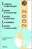 Elisabeth Balagny - Le diabétique en milieu chirurgical, Anesthésie de la personne âgée, Anesthésie du patient obèse, Les morphiniques, Anesthésie et assurance qualité - 24e réunion de perfectionnement des infirmières et infirmiers anesthésistes.