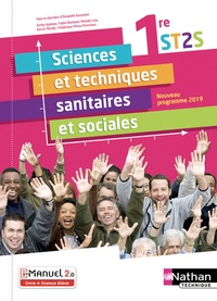 Elisabeth Baumeier et Kathy Ajakane - Sciences et techniques sanitaires et sociales 1re ST2S.