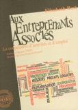 Elisabeth Bost - Aux entreprenants associés - La coopérative d'activités et d'emploi.