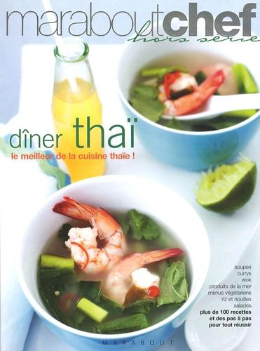 Dîner thaï