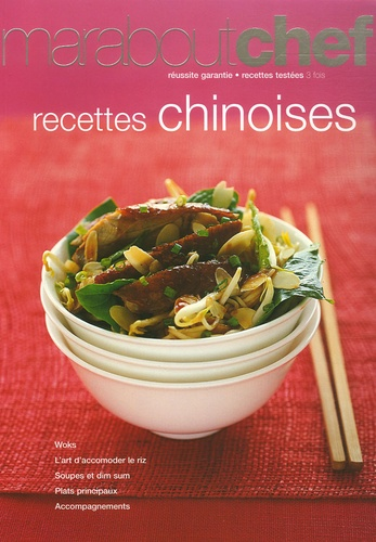 Elisabeth Boyer et Sabine Boullongne - Recettes chinoises.