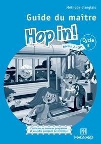 Elisabeth Brikké - Méthode d'anglais CM1 Hop in! - Guide du maître. 2 CD audio