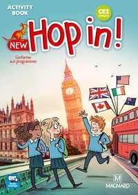 Elisabeth Brikké et Lucy Cuzner - New Hop in! CE2 cycle 2 - Activity Book.