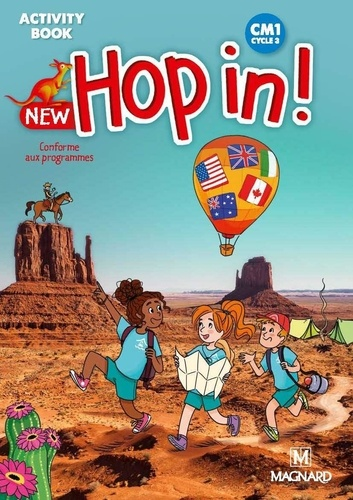 New Hop in! CM1 cycle 3. Activity Book  Edition 2019