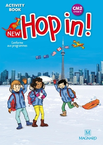 Elisabeth Brikké et Lucy Cuzner - New Hop in! CM2 cycle 3 - Activity Book.