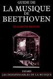 Elisabeth Brisson - Guide de la musique de Beethoven.