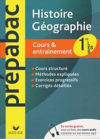Elisabeth Brisson et Sophie Martin - Histoire Géographie 1e L, ES, S.