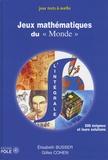 """Elisabeth Busser et Gilles Cohen - Jeux mathématiques du """"Monde"""" - (001-500)."""