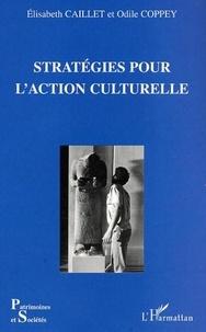 Elisabeth Caillet et Odile Coppey - Stratégies pour l'action culturelle.