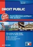 Elisabeth Chaperon et Gérard Terrien - Droit public Catégories A et B. Edition 2012-2013.