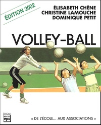 Elisabeth Chêne et Christine Lamouche - Volley-ball.