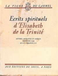 Elisabeth de la Trinité - ECRITS SPIRITUELS.