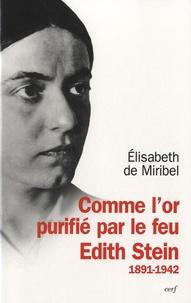 Deedr.fr Comme l'or purifié par le feu - Edith Stein 1891-1942 Image