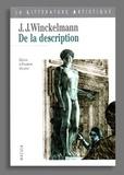 Elisabeth Décultot - De la description.