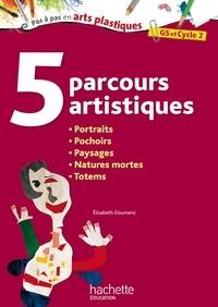 5 parcours artistiques GS et Cycle 2 - Portraits, pochoirs, paysages, natures mortes, totems.pdf