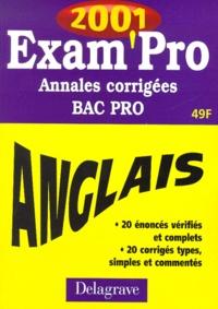 Anglais Bac pro. Annales corrigées 2001.pdf