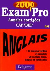ANGLAIS CAP/BEP. Annales corrigées 2000.pdf