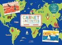 Elisabeth Dumont-Le Cornec et Agathe Demois - Carnet d'activités pour petits explorateurs - Avec des dessins, des jeux et 30 stickers.
