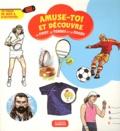 Elisabeth Ferté - Le foot, le tennis et le rugby - 72 pages de jeux et d'activités.
