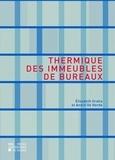 Elisabeth Gratia - Thermique des immeubles de bureaux.