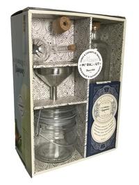Elisabeth Guedès - Coffret La fabrique à liqueurs - Avec un bocal en verre, un entonnoir, une bouteille de 75 cl, un bouchon doseur.