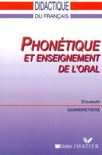 Elisabeth Guimbretière - Phonétique et enseignement de l'oral.