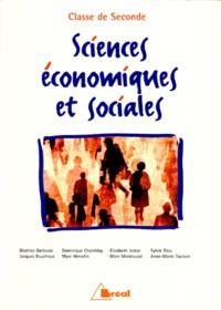 Elisabeth Jestaz et Jacques Bouchoux - Sciences économiques et sociales 2e.